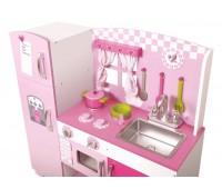 Детска дървена кухня за игра