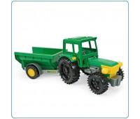 Детска играчка трактор с ремарке