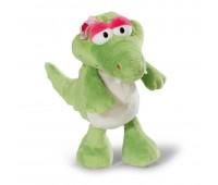 Детска плюшена играчка - Крокодила Нахла- 35 см.