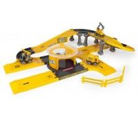 Детски конструктор и писта - строителна площадка