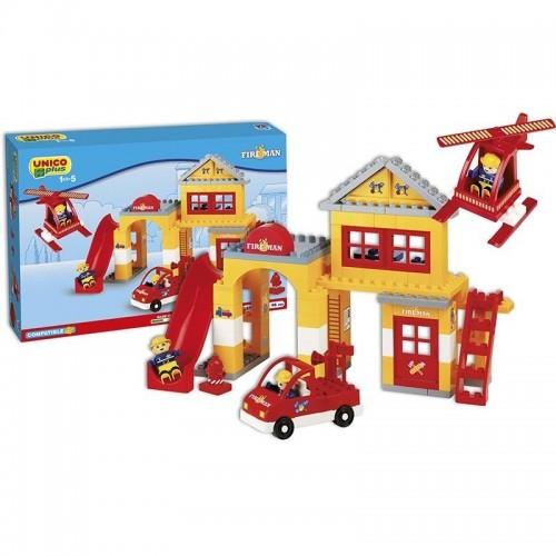 Конструктор за деца - пожарникар, Unico