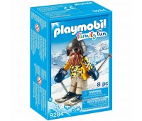 Детски конструктор Playmobil, Скиор със ски