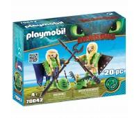 Детски конструктор Playmobil, Raffnut and Taffnut
