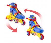 Комбинирани ролери и ролкови кънки за деца - Super Wings