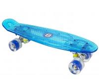 Детски скейтборд с LED светлини, FUNBEE за момче
