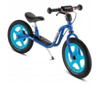 Балансиращо колело със спирачка PUKY LR 1L BR - тъмно синьо и светло синьо