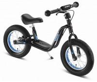 Балансиращо колело със спирачка и степенка PUKY LR XL - черно и синьо
