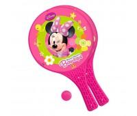 Комплект от 2 ракети и топче за игра навън - Minnie Mouse
