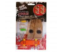 Комплект играчка за пръсти PENNY BOARD, оранжев