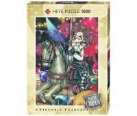 Пъзел Heye от 1000 части - Въртележка, серия Мистичния цирк, Виктория Франсес