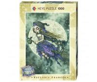 Пъзел Heye от 1000 части - Летяща метла, серия Мистичния цирк, Виктория Франсес