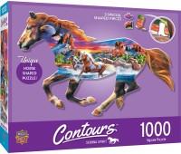 Пъзел Master Pieces от 1000 части - Бягащият кон