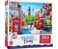 Пъзел Master Pieces от 550 части - Лондон