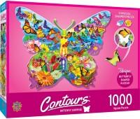 Пъзел Master Pieces от 1000 части - Пеперуда