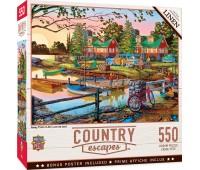 Пъзел Master Pieces от 550 части - Лято край езерото