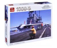 Пъзел King от 1000 части - USS Forrestal, Айвън Бериман