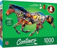 Пъзел Master Pieces от 1000 части - Див кон
