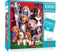 Пъзел Master Pieces от 1000 части - Бандата на кучетата