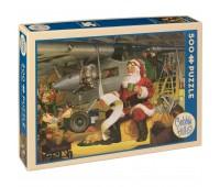 Пъзел Cobble Hill от 500 части - Списъкът на Дядо Коледа, Том Нюсъм