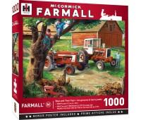 Пъзел Master Pieces от 1000 части - Трактор за всяко момче