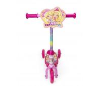 Детска триколка - тротинетка, Барби Dreamtopia